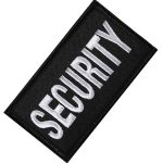 Security Aufnäher